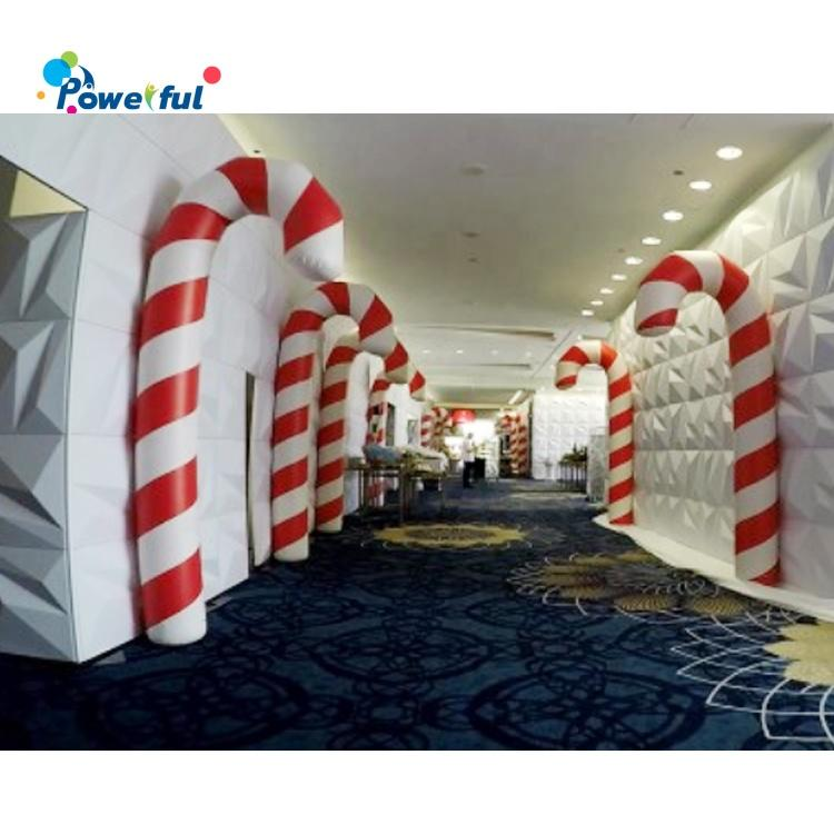 2020 New style outdoor large inflatable Christmas decoration candy canes