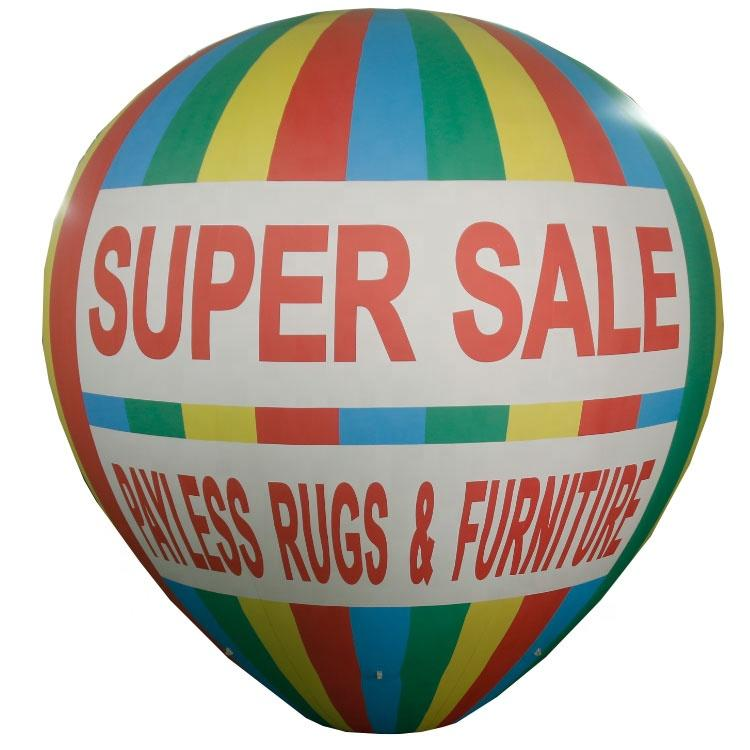Hot salePVC inflatable air balloon , inflatable helium balloon , inflatable flying sky balloon for advertising