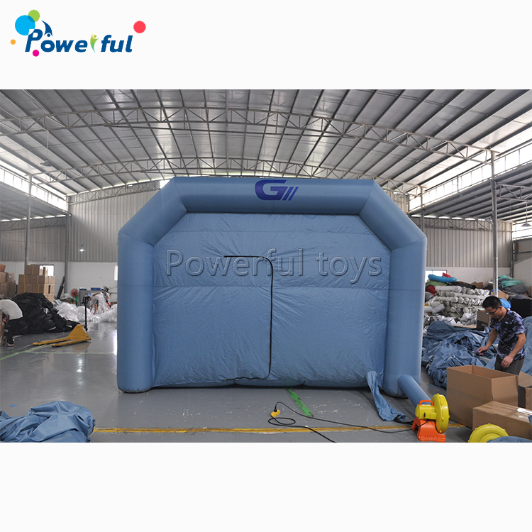26x13x10Ft Portable Auto Car Paint Booth Inflatable Spray Booth Custom Tent for sale