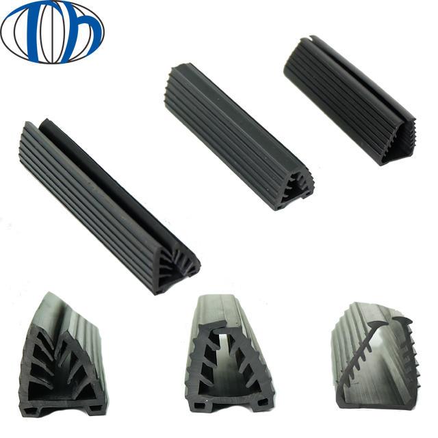 21*24mm dust proof rubber strip sliding door seal door wedge rubber seal strip upvc door rubber seal strip