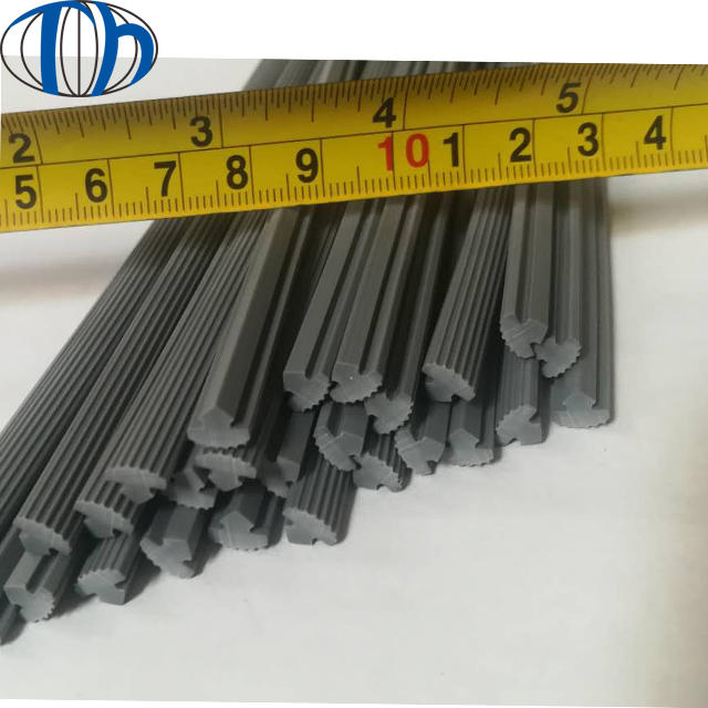 Aluminum epdm silicone natural rubber sealing strip