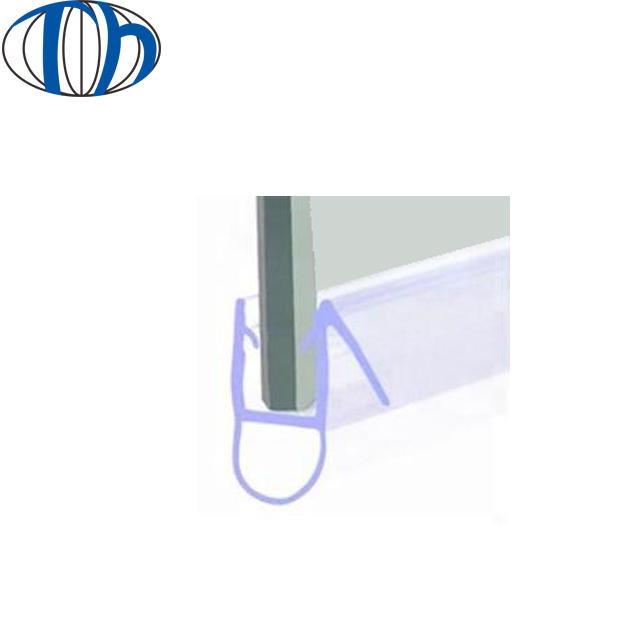 PVC flexible edge guard extruded epdm nbr rubber sheet trim strip sealing strip glass door and window rubber seal strip