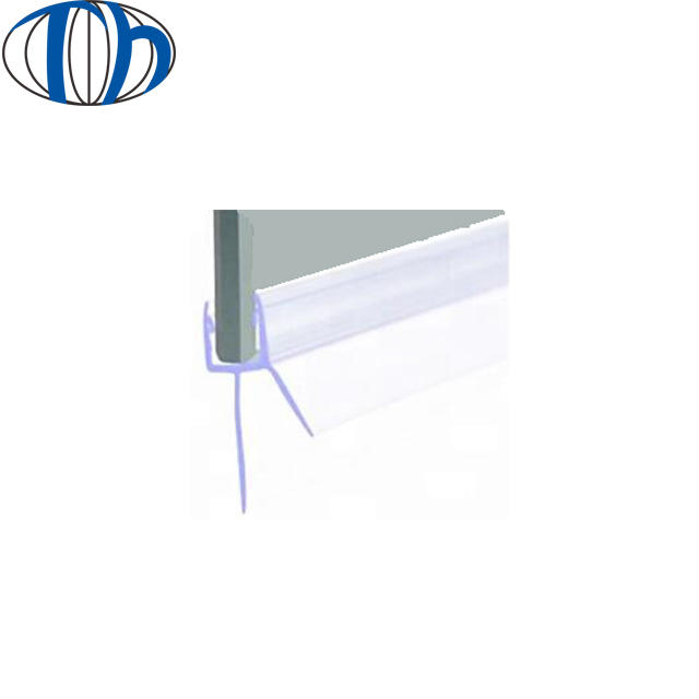 PVC rubber u f h l channel bottom aluminiumshower window seal door protection strip