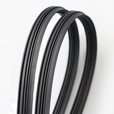 High temperature resistance u channel silicon rubber seal strip