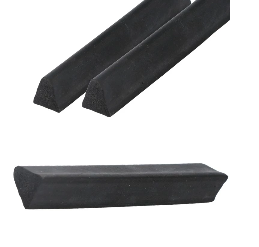 High Quality Soft PVC Rubber Strip Triangle