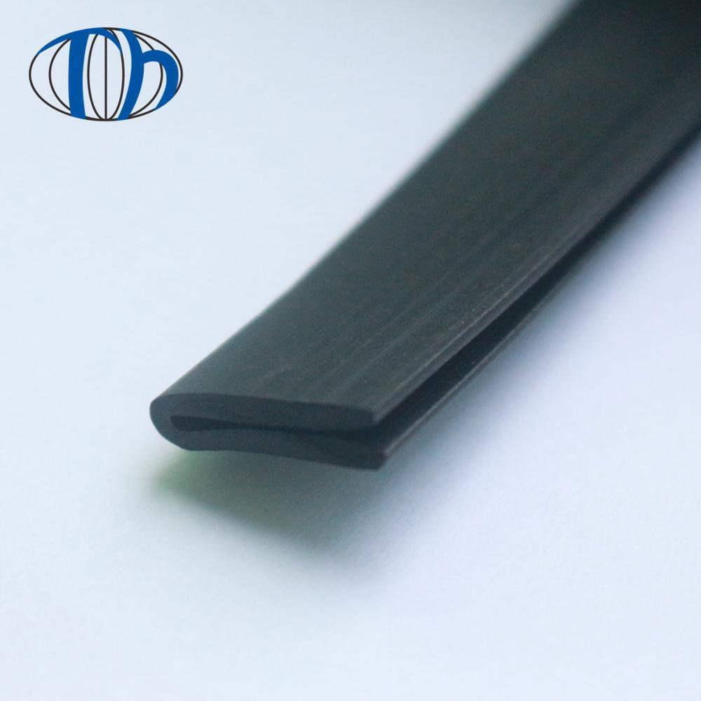 15 x 4mm EPDM small U channel anticollision soundproof EPDM seal strip
