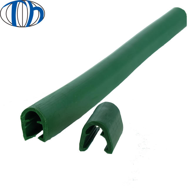 u channel solid rigis pvc profile rubber extrusion