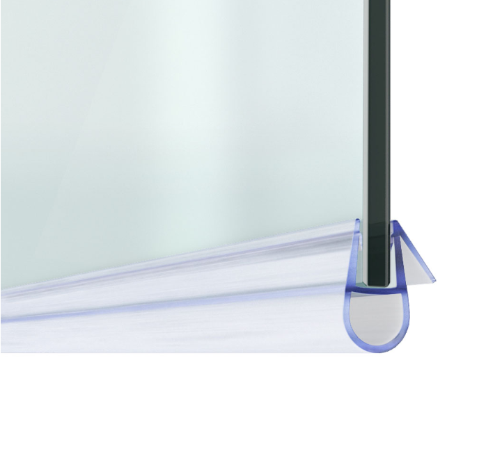 Door Rubber Glass Seal Strips For Shower