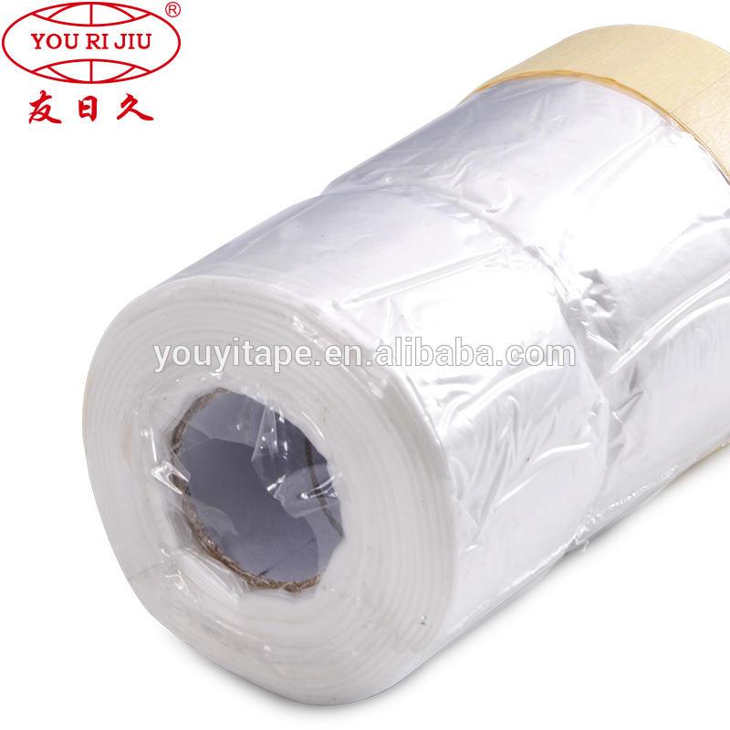auto paint plastic film Car Masking Tape Covering Film