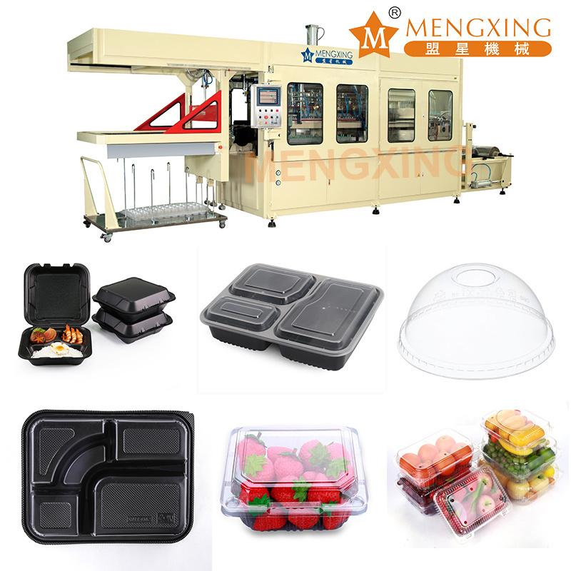 Mengxing Auto Plastic Forming Machine PP PET PS Tray Making Machine Lids Blister Forming Machine