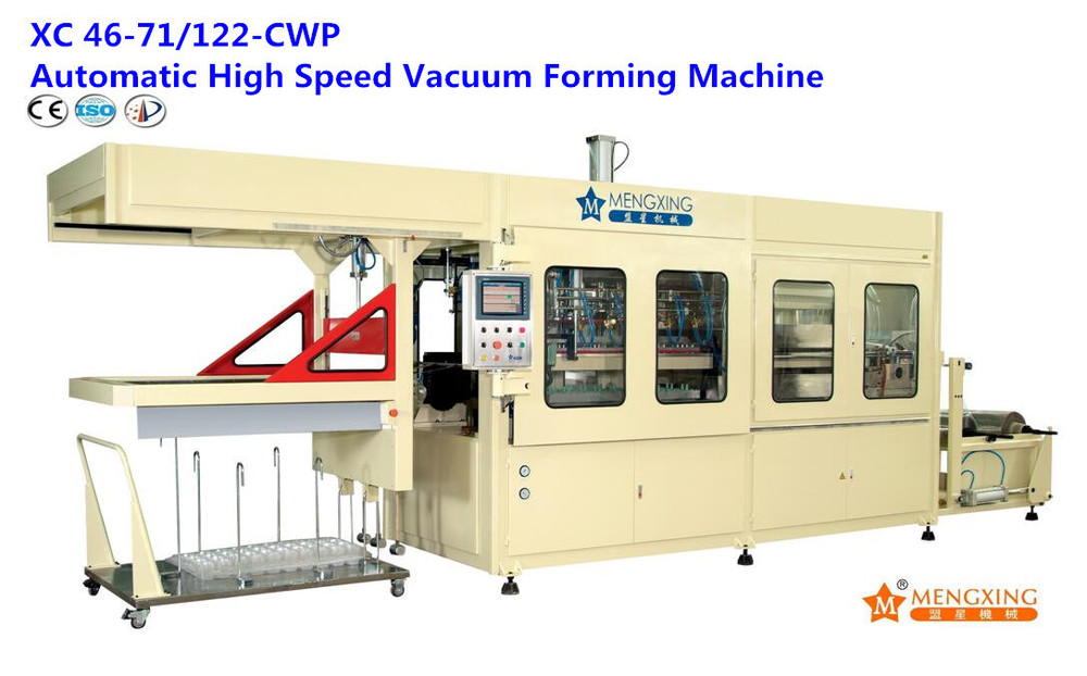 Plastic Disposable Cover Vacuum Products Making Forming Machine