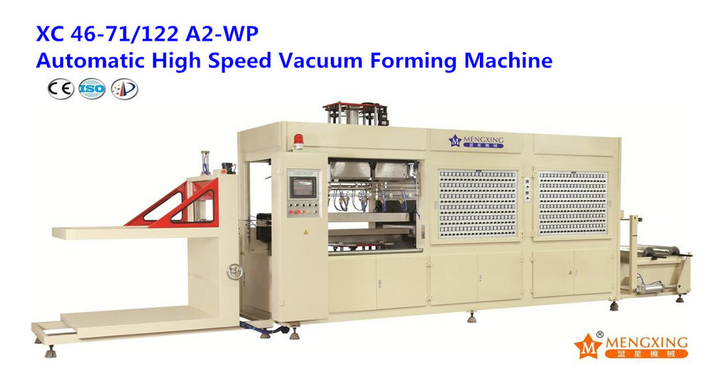 Automatic Plastic Cake Box Vacuum Forming Machine (XC46-71/122A2-WP)