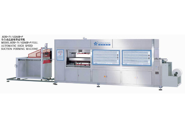High Speed Vacuum Forming Machine (XC40-71/122A2B-P)
