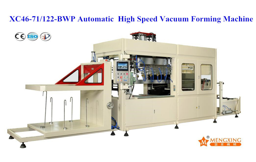 Automatic Single Heater Vacuum Forming Machine (XC46-71/122A-BWP)