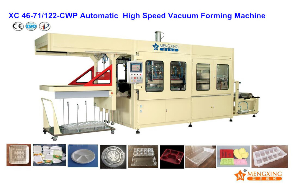 Plastic Vacuum Forming Machine (XC46-71/122A-CWP)