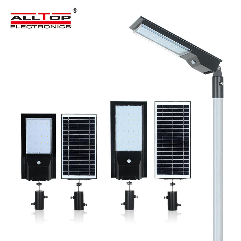 ALLTOP High quality waterproof outdoor lighting ip65 smd 9w 14w led solar street light