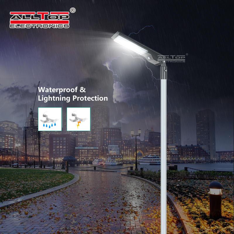 ALLTOP High quality waterproof outdoor lighting ip65 smd 9w 14w led solar street light