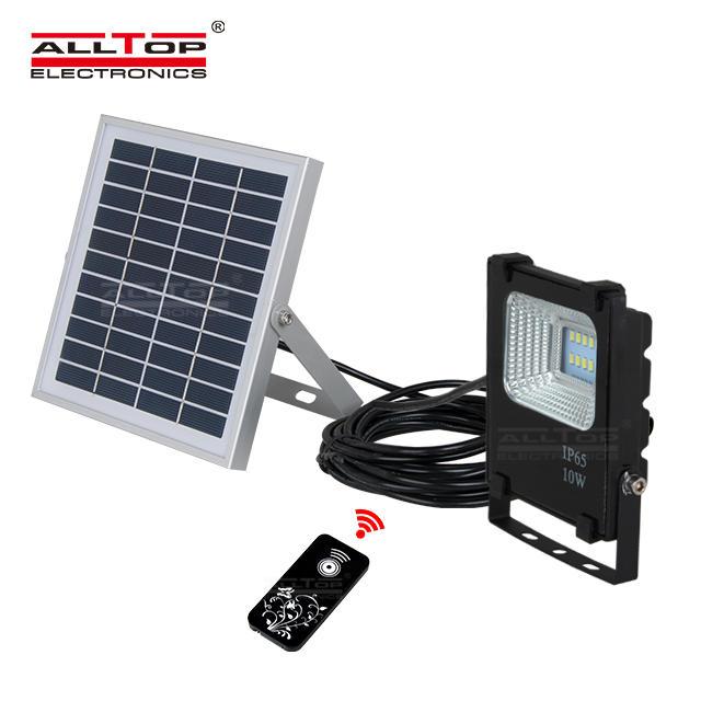 High efficiency outdoor waterproof solar panel IP65 10 20 30 50 100watt solar led flood light