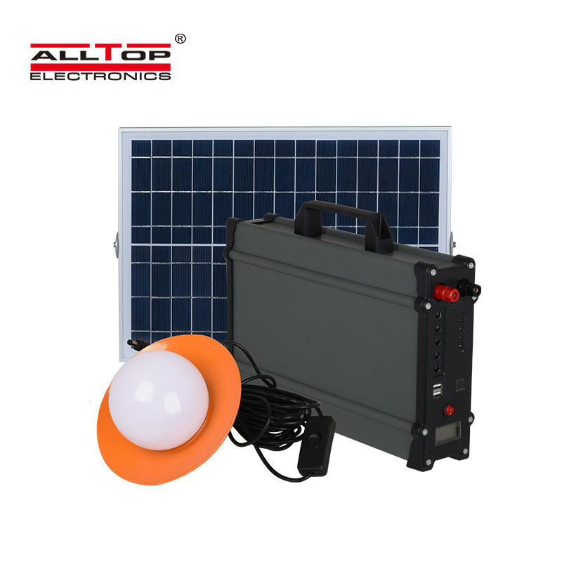 ALLTOP 2020 New design electricity generating lighting system solar power system