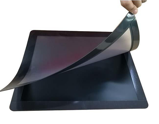 Rubber PVC changeable counter mat deskmat