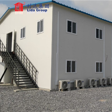 300~3000 people two storey standard prefab labor house for big camp