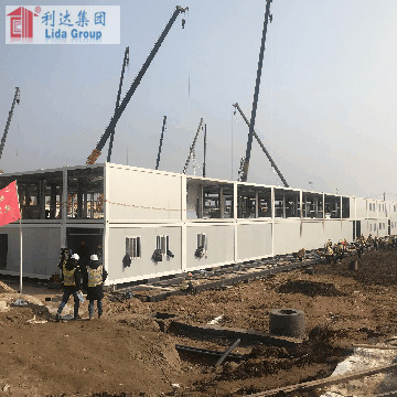 Asia Onshore Offshore LNG Gas Refinery container house