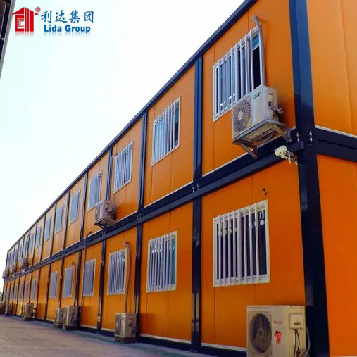 Angola Cango Mozambique Worker Accommodation Easy Assemble Container House Dormitory