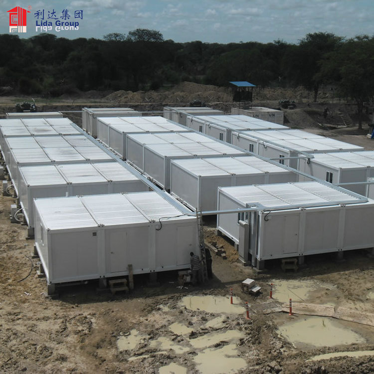 Housing containers for sale in iraq, fiberglass military container