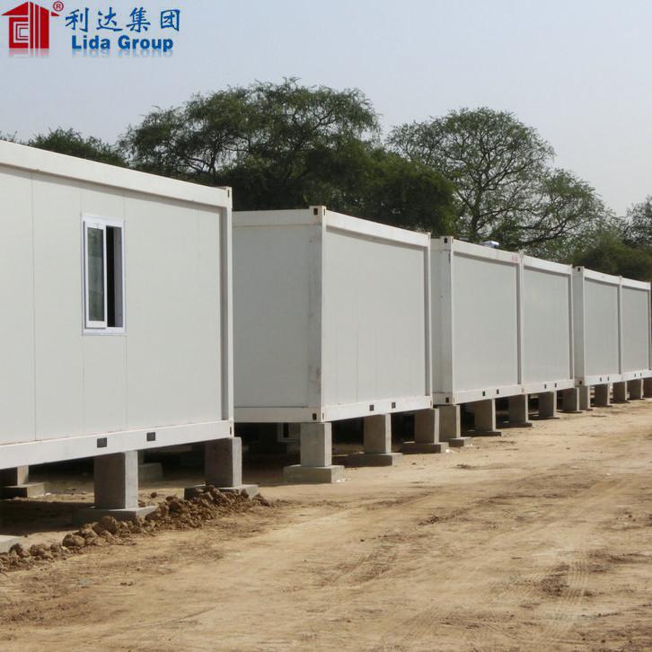 Cheap price sandwich panel caravan container