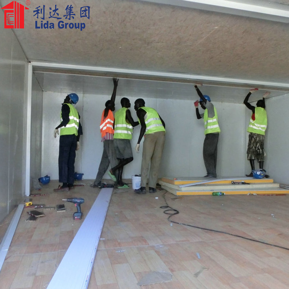 Africa oil and gas expansion construction projects container house worker camp