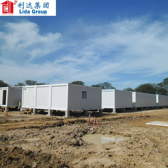 low cost luxury china made easy assemble double storey modular house