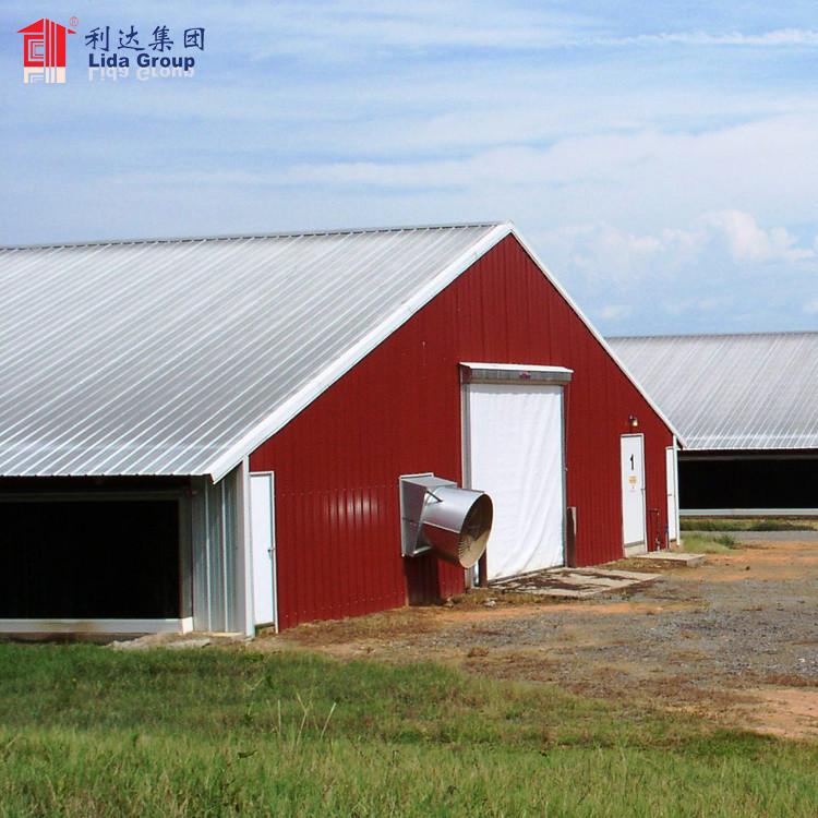 Chicken farm building for Malaysia, chicken breeding house