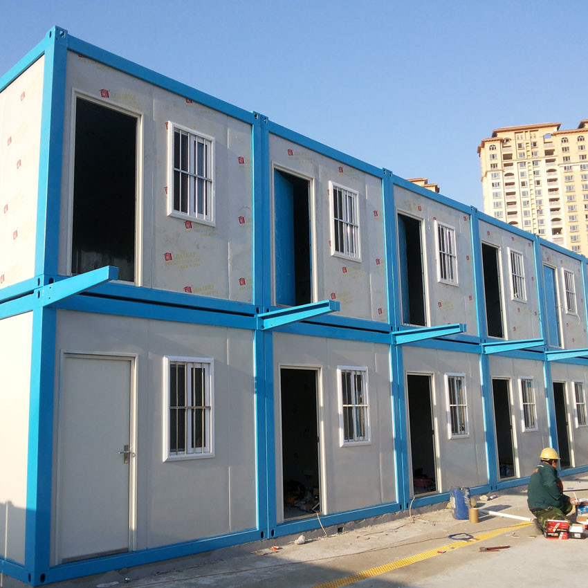 LNG Gas project site labour container house accommodation