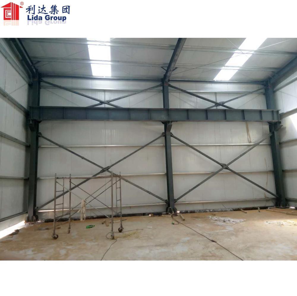 Sri Lanka steel structure warehouse workshop hangar showroom