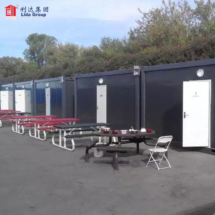 Safe and durable modular prefab container house, modular building