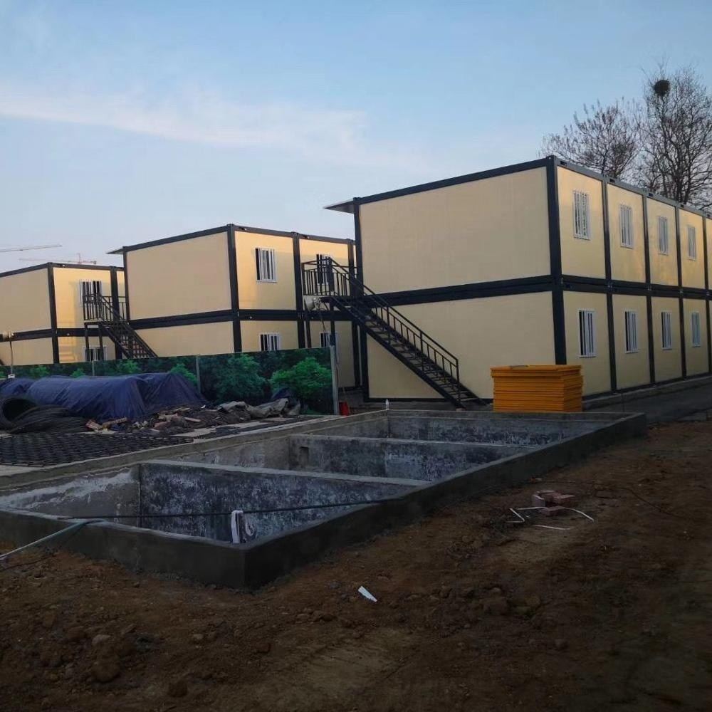 Fast Assembly and Economic Prefab Luxury Labor House Dormitory for Living