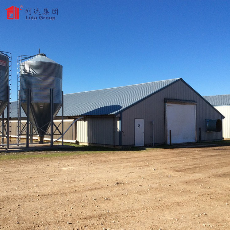 Industrial chicken house for sale, chicken house trusses for sale