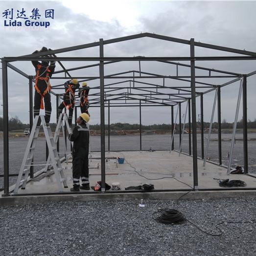 1000~10000 people prefabricated labor camp house prefab house