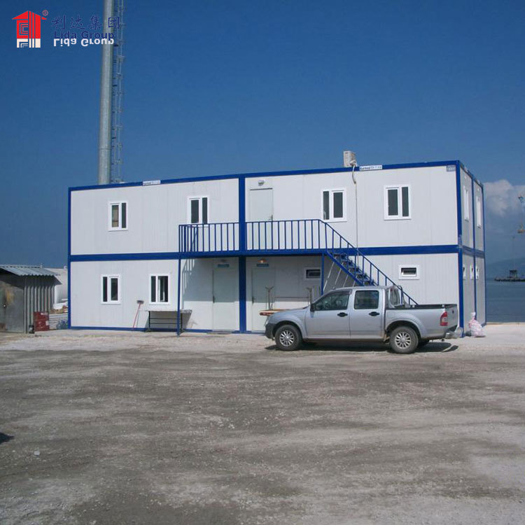 Container houses for Indonesia, 20' container house design