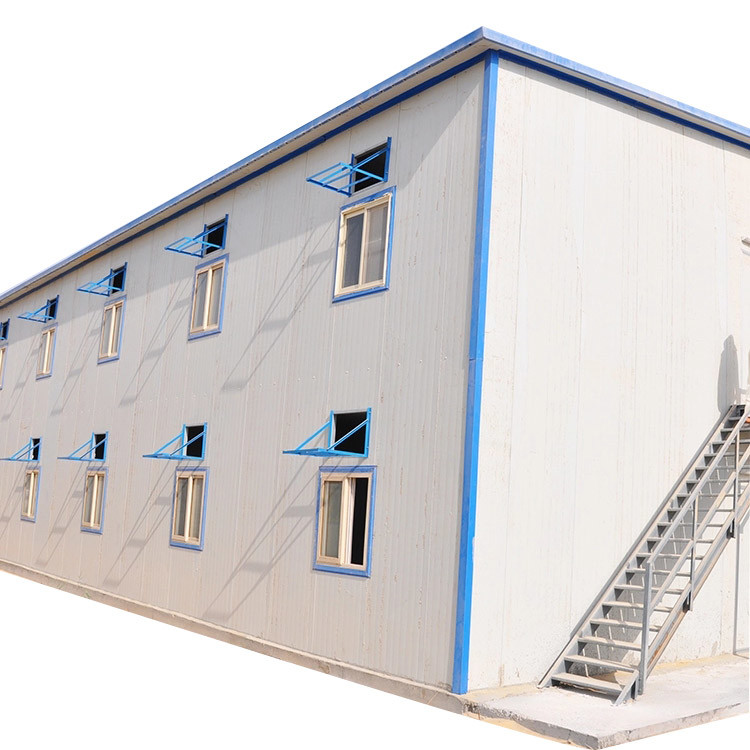 Steel Structural Earthquake Resistant Modular Luxury Prefab House Dormitory
