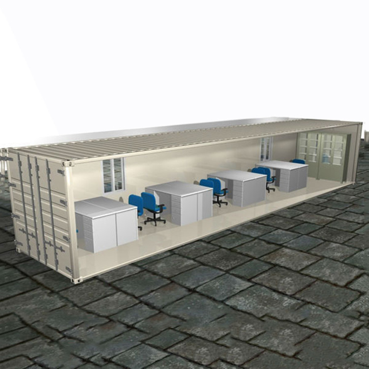 20ft flat pack container house for LNG and refinery labour camp