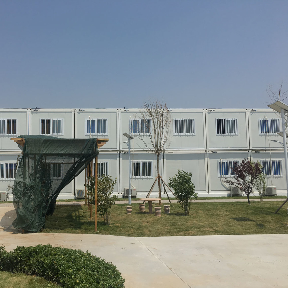 cheap price modular container house for worker accommodation camp in Middle east and africa