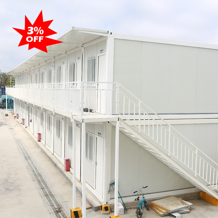 prefabricated steel structure frame temporary house mobile housing