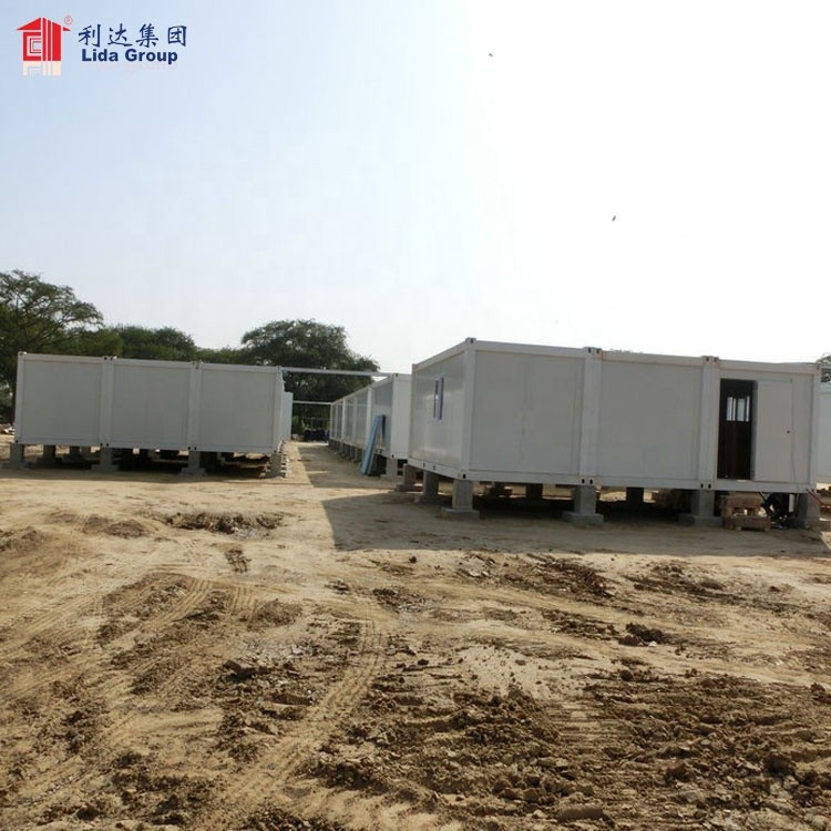 South sudan prefebrication house, turn-key prefab container house