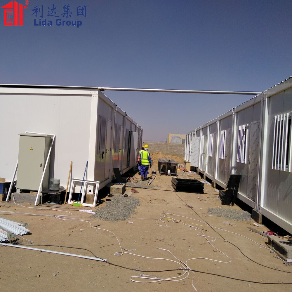 Easy assembled Refinery site container house dormitory