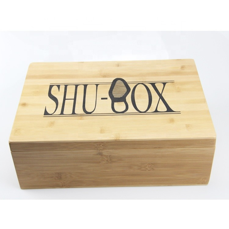 New product luxury wooden giant storage shoe box for sale