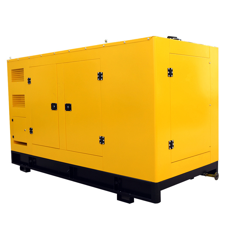 50 KW Biogas Generators 400V 230V Power Plant With Water Cooling Engine