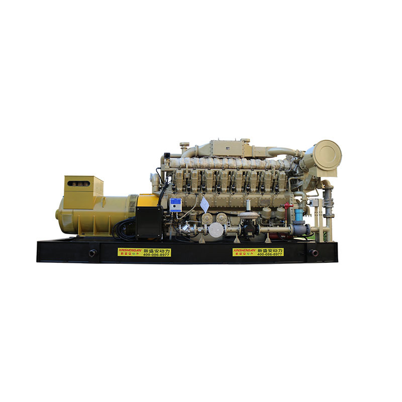 0.3m^3/kw.h Open Frame Water Cooling Avr Natural Gas Powered Generators