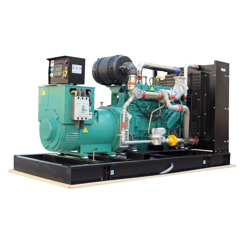 CE Approved 250Kw Water Cooling Electric Start Natural Gas Home Generator