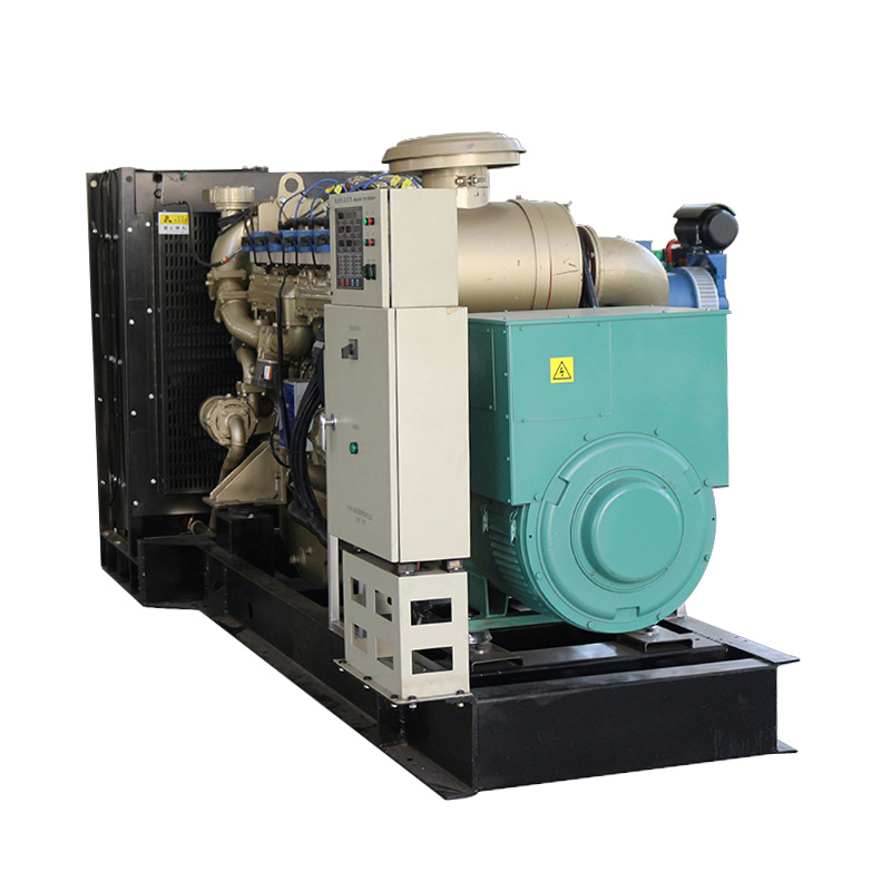 400kw Open Frame 24v Electric Start Water Cooling 3 Phase Gas Generator Natural
